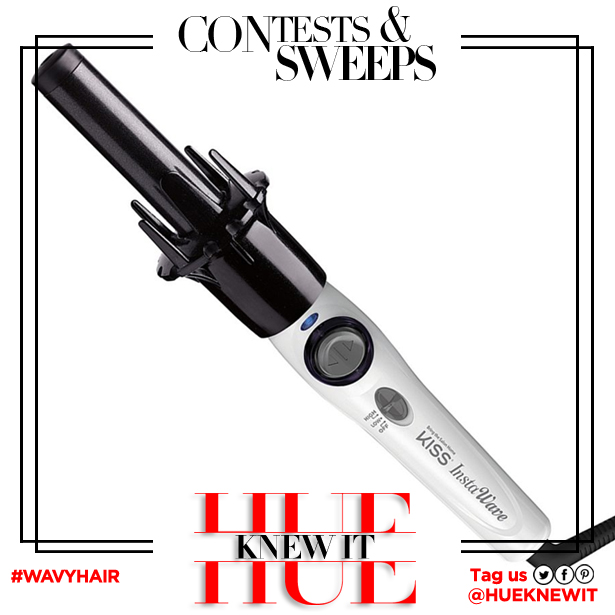 GIVEAWAY: KISS Instawave Automatic Curler