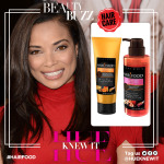 Rochelle Aytes doesn't do never have dry dull hair.