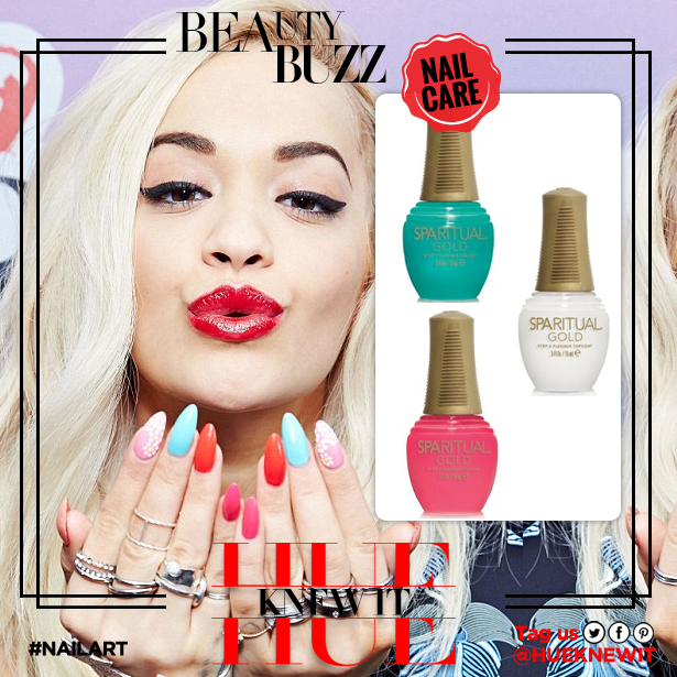 2 Steps To Upping Your Nail Art Game Like Rita Ora