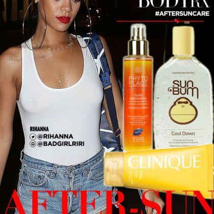 What Rihanna's After Sun Care Regimen Should Look Like