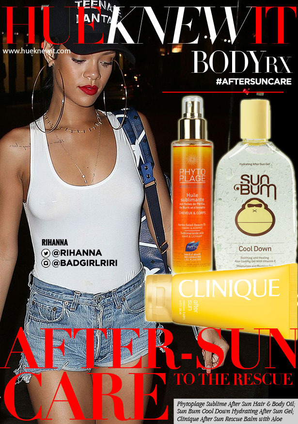 What Rihanna's After Sun Care Regimen Should Look Like