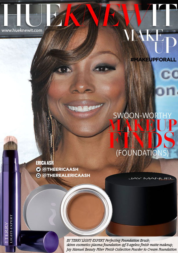 Foundation makeup for all skin tones, Erica Ash