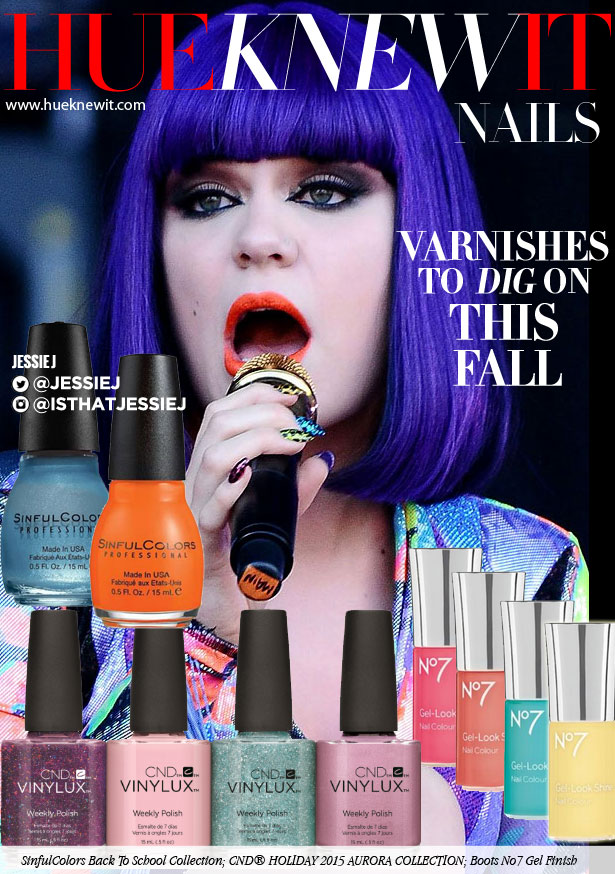 Jessie J-Worthy Fall Nail Varnishes
