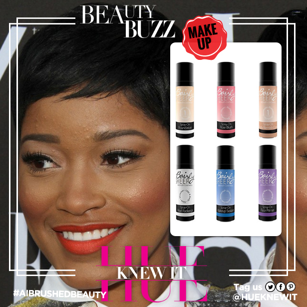 Keke Palmer: How Spray on Makeup Should Look