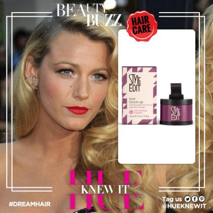 Get Blake Lively's Superstar Hair Sans The Gray Roots