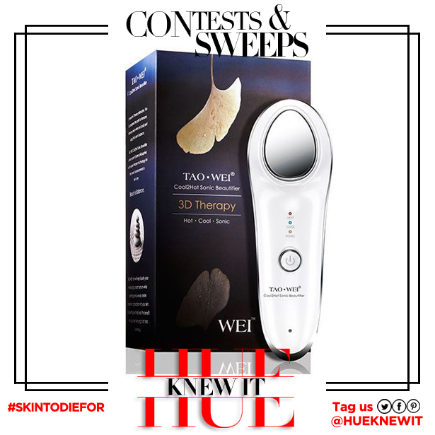 GIVEAWAY: Tao Wei Cool2Hot Sonic Beautifier
