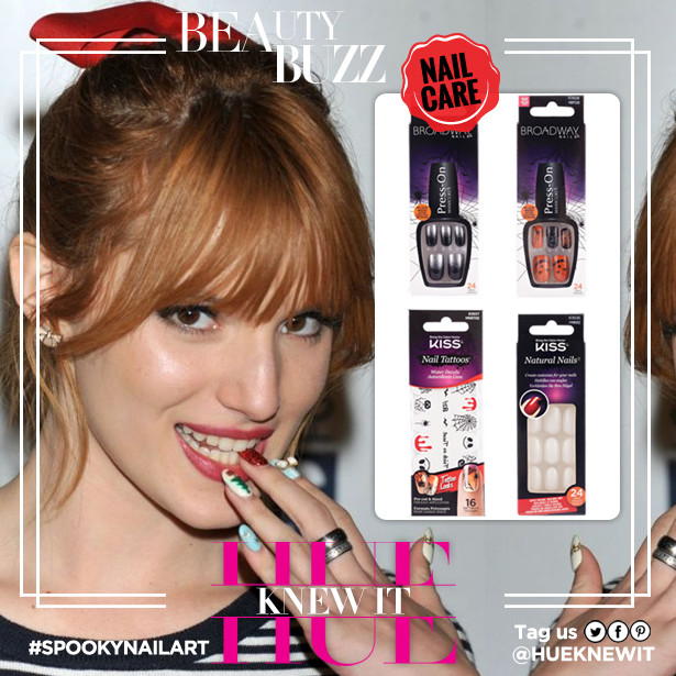 Halloween Nail Art: What Would Bella Thorne Do?