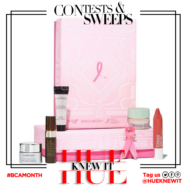 GIVEAWAY: Birchbox Breast Cancer Awareness Box