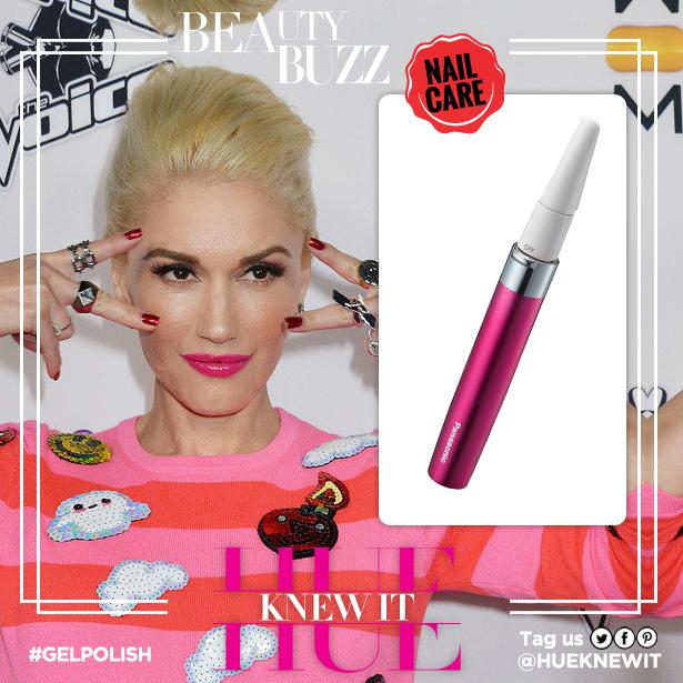 Lacquer lovers like Gwen Stefani
