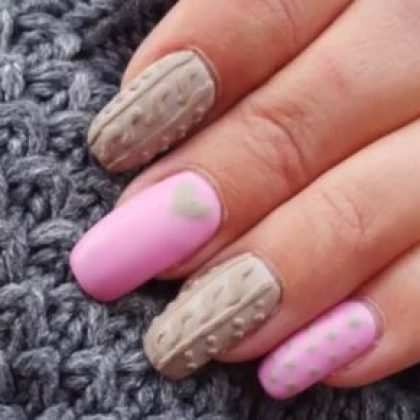 Sweater Nails: Winter's Cozy New Trend