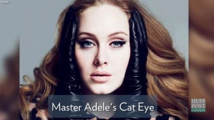 How To Master Adele's Cat Eye Makeup