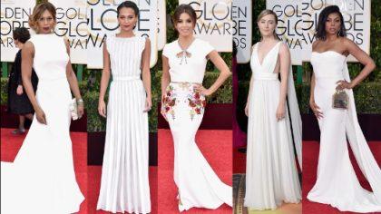 The Golden Globes Fashion Moments We're Still Talking About
