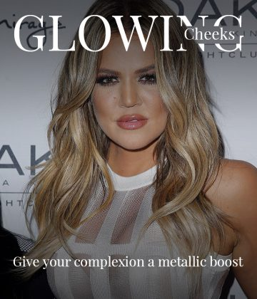What To Use To Get Khloe Kardashian's Glowing Cheeks
