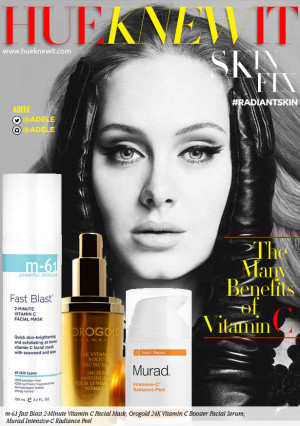 Adele Gives Face: The Benefits of Vitamin C