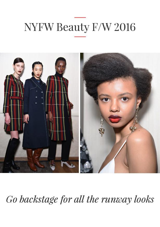 NYFW Fall Makeup Looks 2016