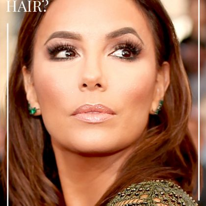 To Get Eva's Brushable Sleek Hair, Try This