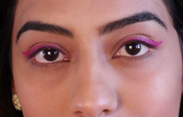 Get the Trendy Neon Cat Eye Look