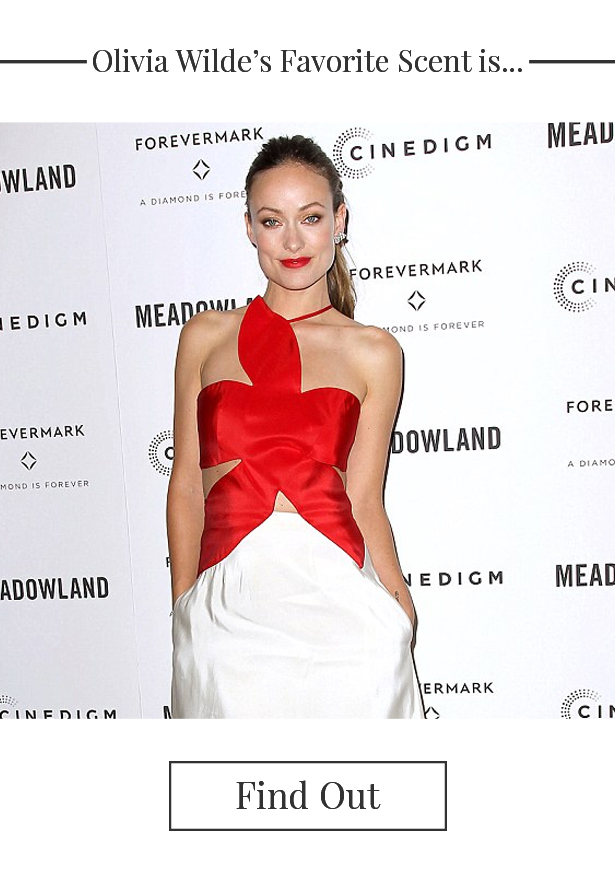 Olivia Wilde's favorite fragrance
