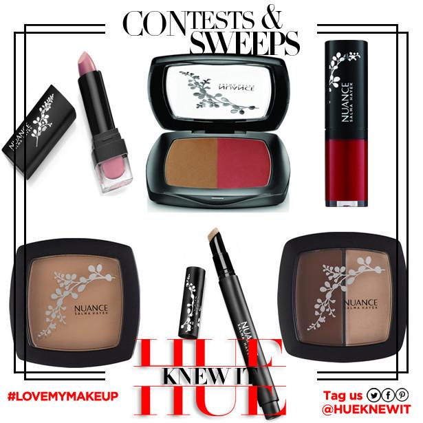 GIVEAWAY: Salma Hayek Nuance Cosmetics
