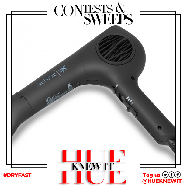 GIVEAWAY: Bio Ionic Ultra-Light Speed Hair Dryer