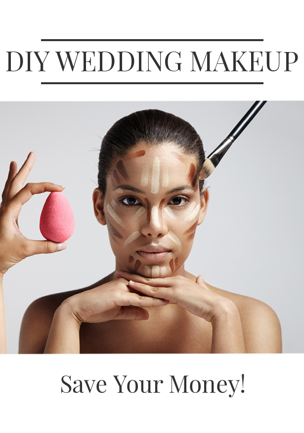 Applying Your Own Wedding Makeup : How to DIY Your Own Wedding Makeup HueKnewIt