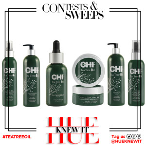 GIVEAWAY: CHI Hair Care Tea Tree Oil Collection