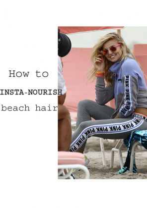How To Rehab Sun-Parched Beach Hair