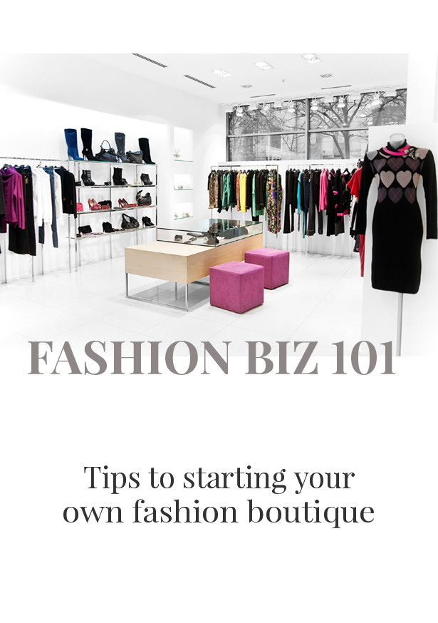 how to open a fashion boutiquue