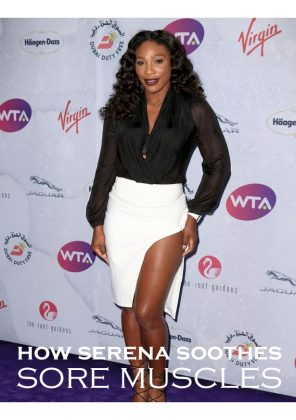 See How Kinesiology Tape Saved Serena