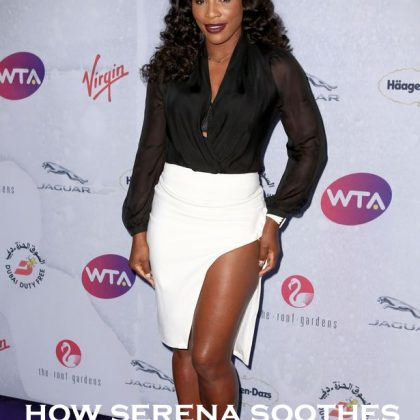 See How Kinesiology Tape Saved Serena