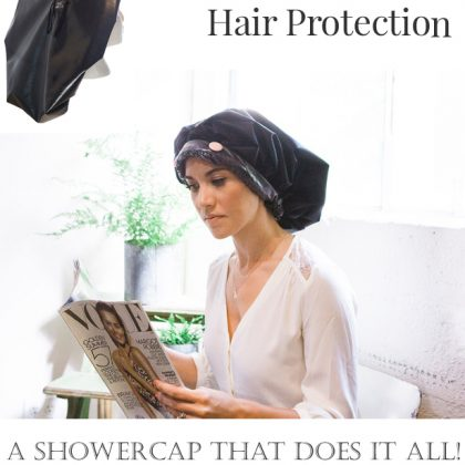 Protect Your Hair in the Shower, Sleep, & Spa!
