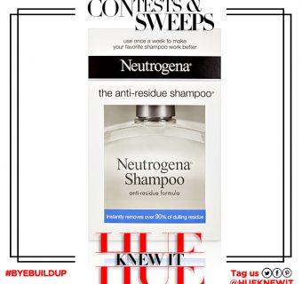 GIVEAWAY: Neutrogena Anti-Residue Shampoo