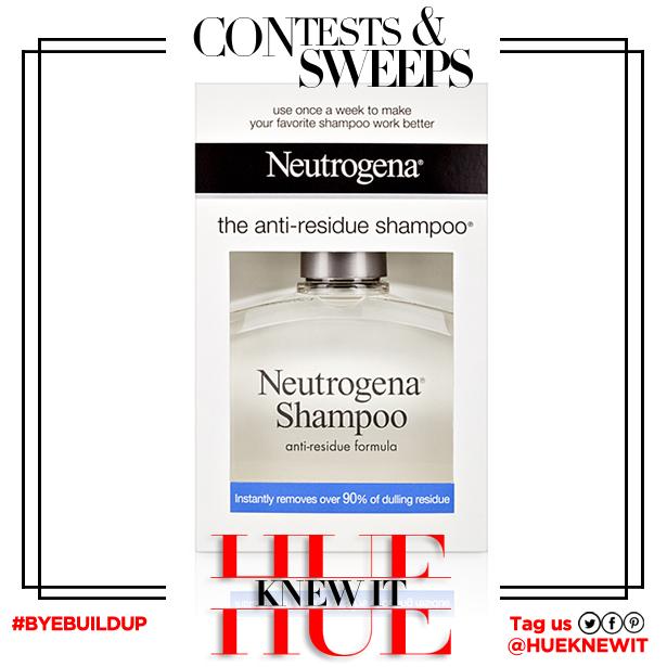 Neutrogena Anti-Residue Shampoo giveaway