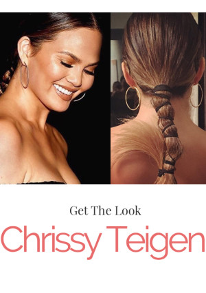 Hair Inspo: Get Chrissy Teigen's Awards Show Look