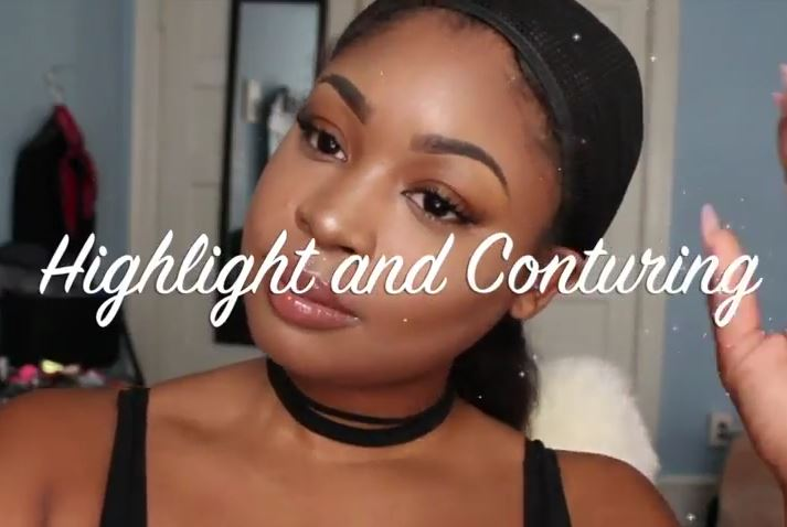 how to highlight brown skin
