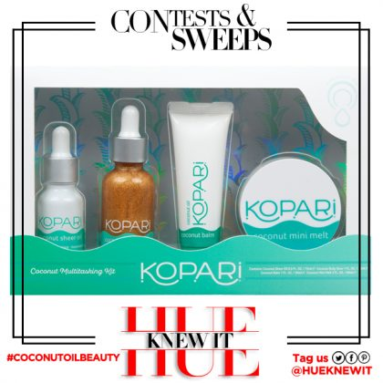 GIVEAWAY: Kopari Beauty Coconut Oil Multitasking Kit