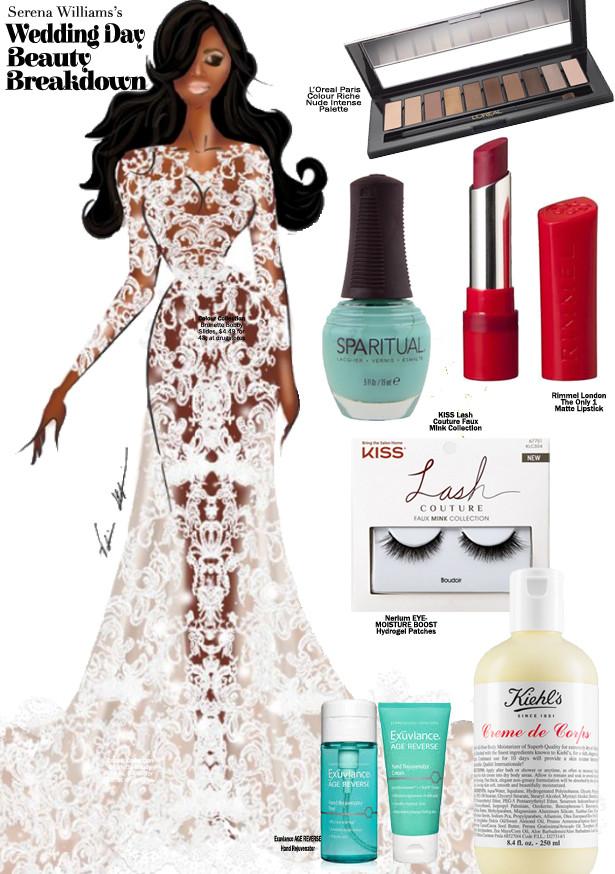 Serena's Wedding Day Beauty Prediction