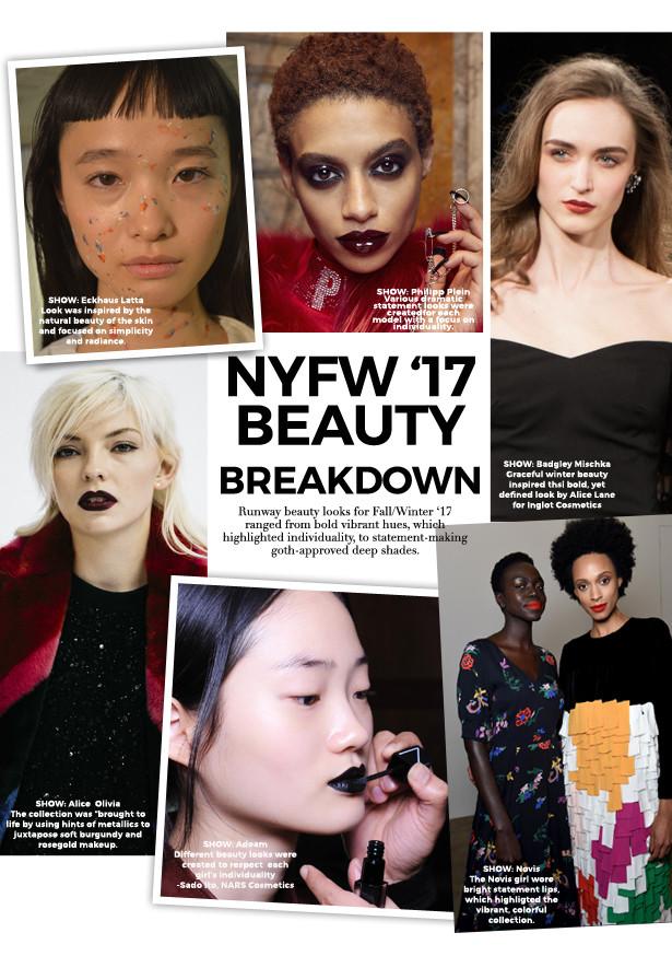 New York Fashion Week FW17 Beauty Looks