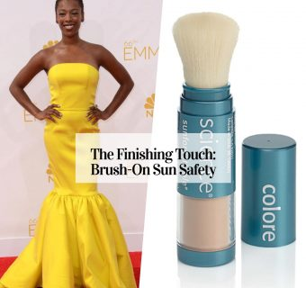 Stress Not Brush On Sunscreen Protection