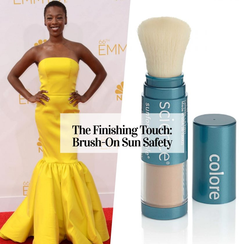 colorscience brush on sunscreen