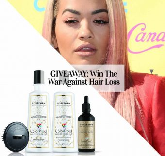 Stressed Out About Hair Thinning and Hair Loss? Win This!