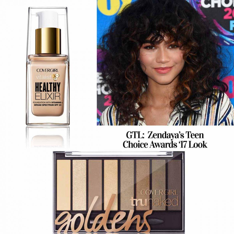 covergirl Zendaya Teen Choice Awards