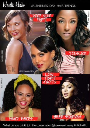 Try The Best Hairstyle For Valentine's Day