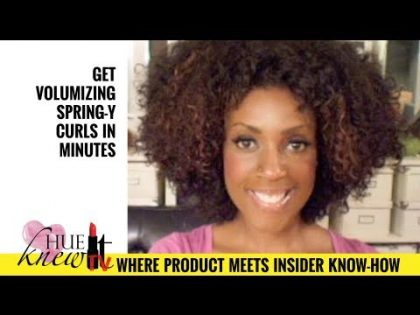 VIDEO: Natural Hair Girls, Wake Up Tired Flat Curls, Waves & Coils