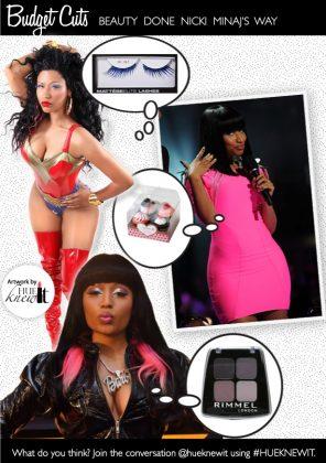 Beauty on a Budget: Get Nicki Minaj's Performance Looks