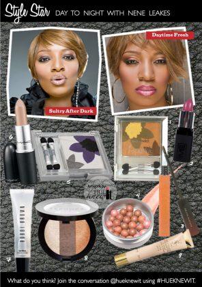 NeNe Leakes' Day to Night Fall Beauty Makeup Looks