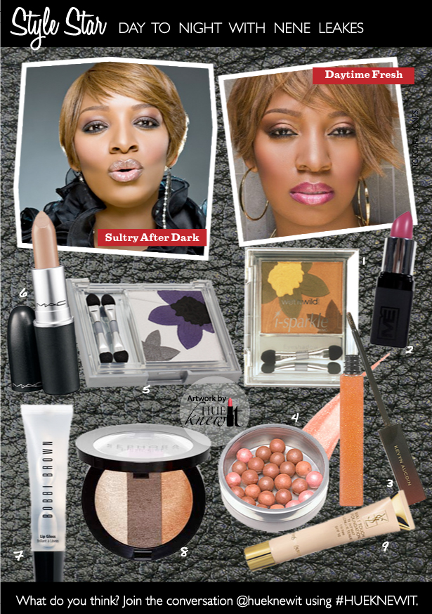 NeNe Leakes' Day to Night Fall Beauty Makeup Looks