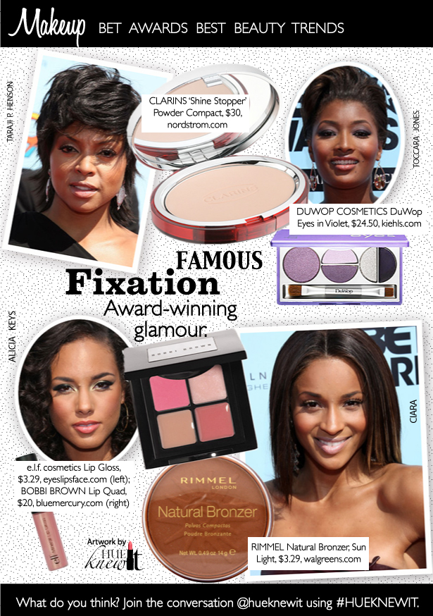 Famous Fixation: The Best Beauty Looks of the BET Awards 2009