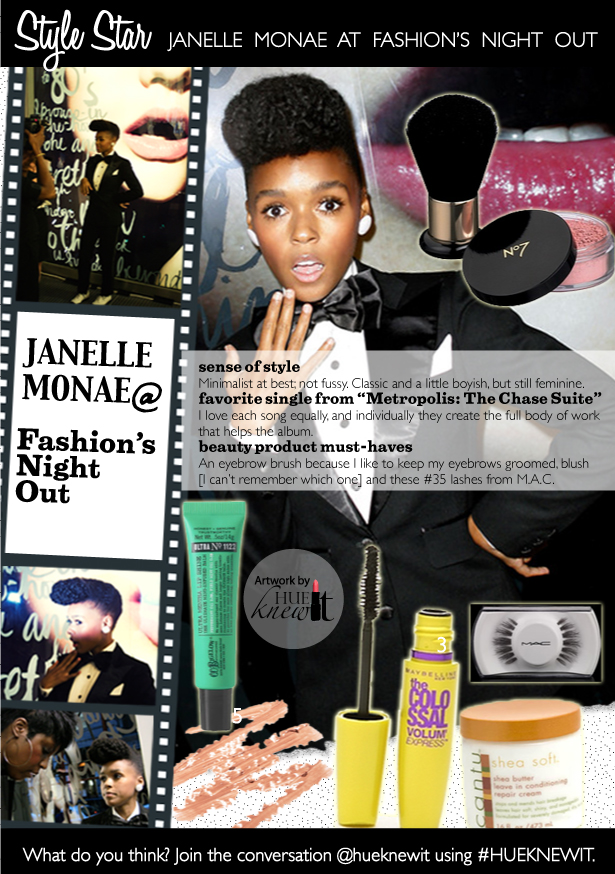 Janelle Monae Beauty Tips for a Fresh Faced Look