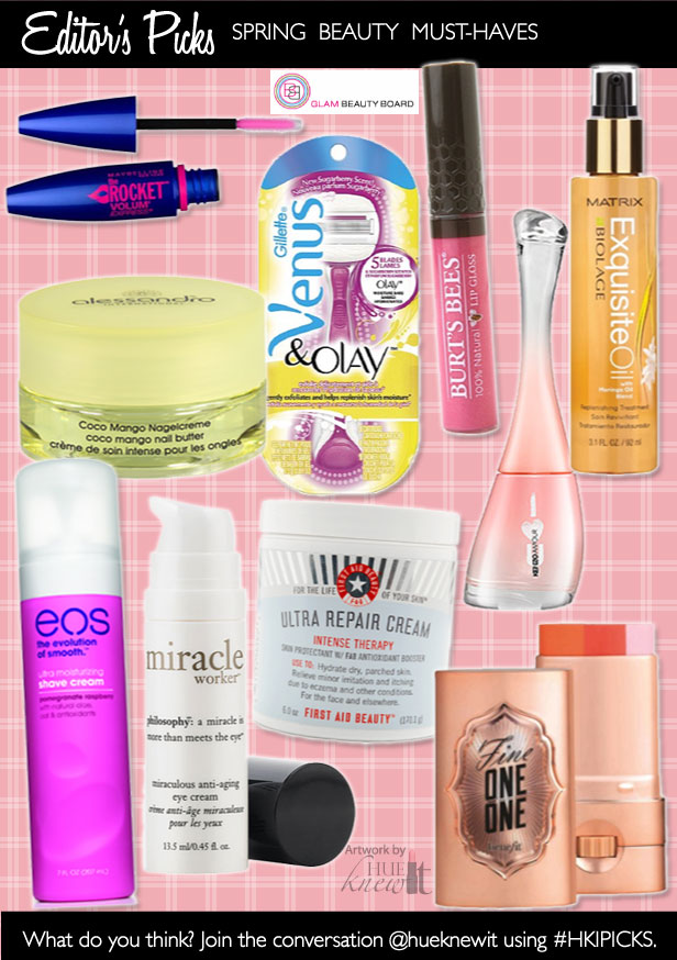 Spring Beauty Must Haves for 2013